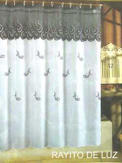 Blanco para ba o for Fabrica de ganchos para cortinas de bano
