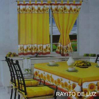 Cortinas y visillos for Colores de cortinas para cocina
